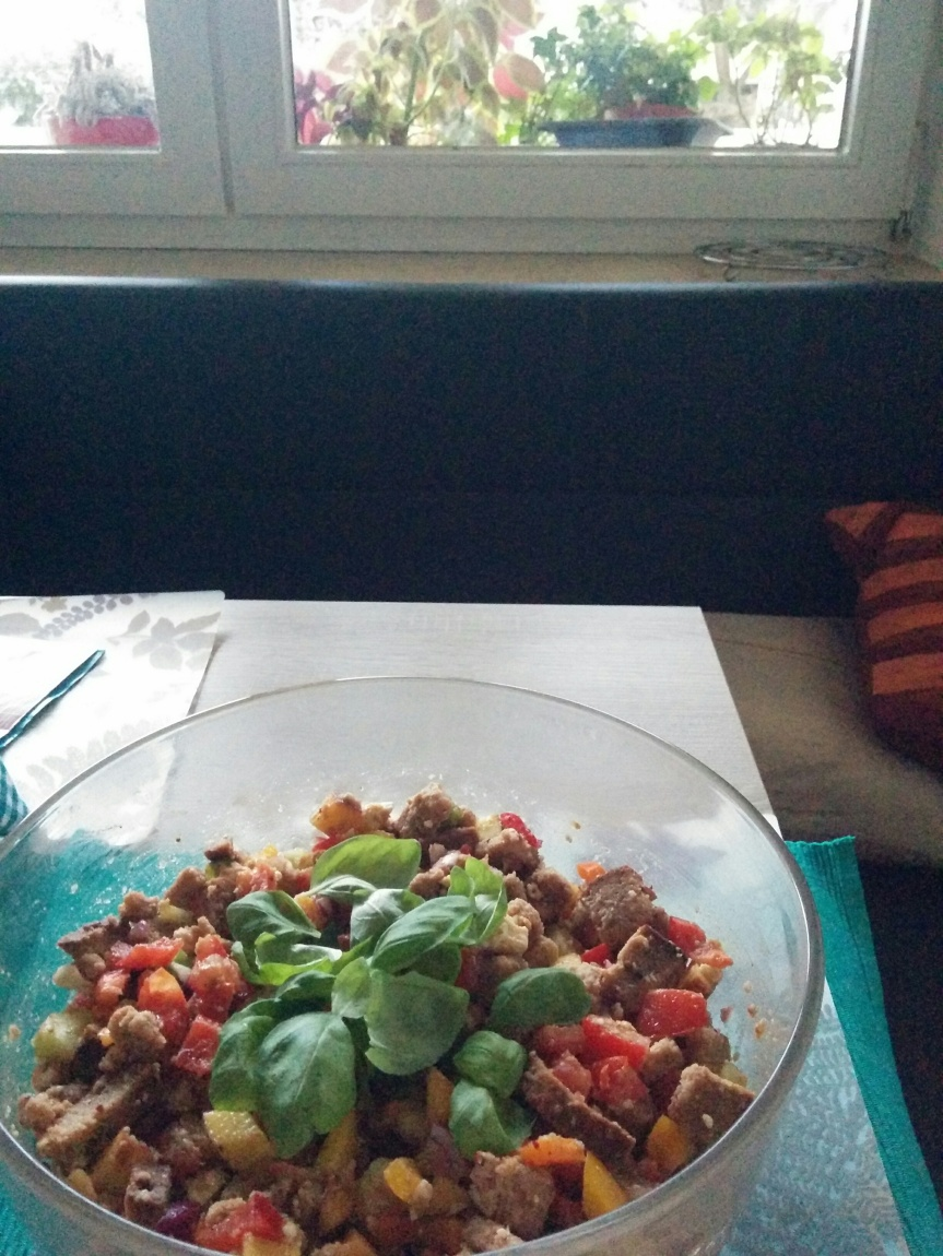 How I met the Panzanella Salad (with recipe ofcourse)